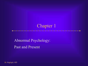 Comer, Abnormal Psychology, 5th edition