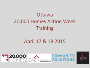 Action Week Training – Ottawa