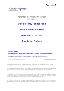 Report of the Investment Adviser