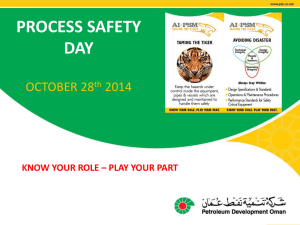 Process Safety Day Presentations 2014pptx
