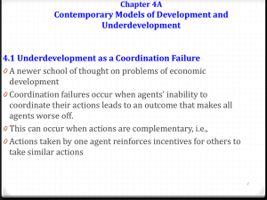 Chapter 4A Contemporary Models of Development and