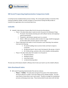 SBI Social Prospecting Implementation Comparison Guide
