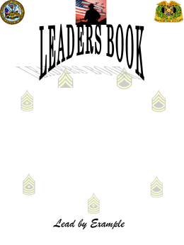 HHC 1AD Leaders Book