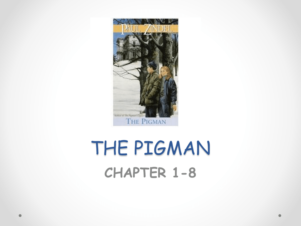 the pigman teacher pages