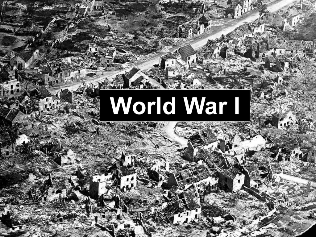 essay about the causes of world war one
