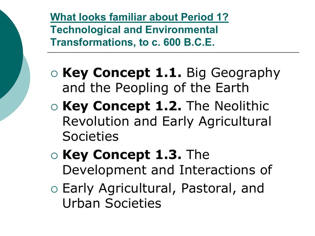 key concept 1 2