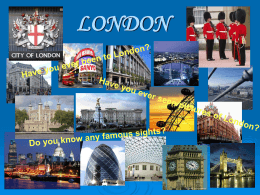 Have you ever seen pictures of London?