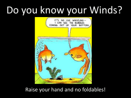 Do you know your Winds?