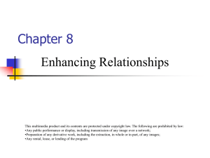 PowerPoint: Enhancing Relationships