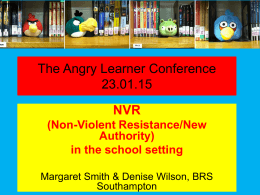 Margaret Smith - The angry learner conference