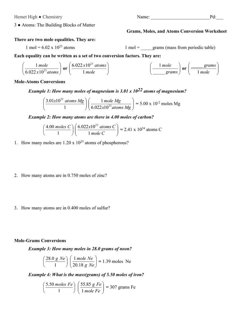 Mole Conversions Worksheet Answers Worksheet Templates – Molar Conversions Worksheet