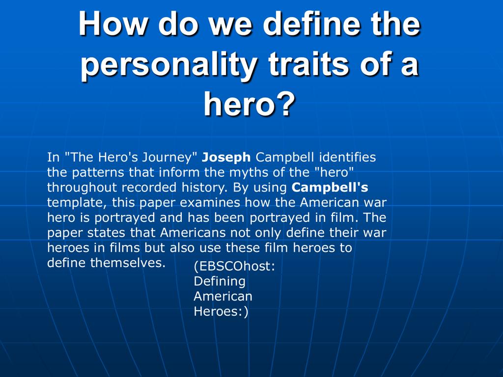 american character traits
