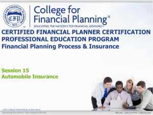have - College for Financial Planning