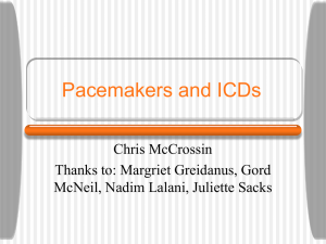Pacemakers and ICDs - Calgary Emergency Medicine