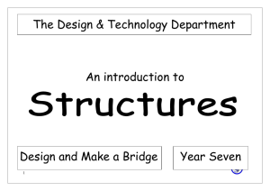 Making Structures