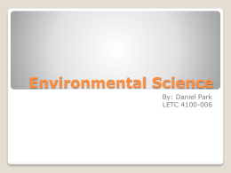 Environmental Science and Conservation Facts ()