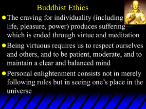 Character Ethics & Moral Quandries