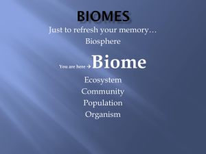 Biomes - Cobb Learning
