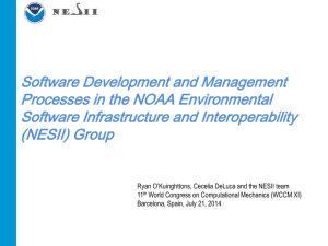 Software Development and Management Processes in the
