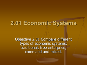 Understand Economics and Economic Systems