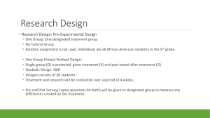 Research Design - ActionResearchProjects