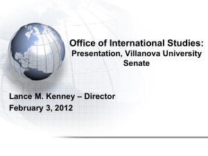 International Studies 2012