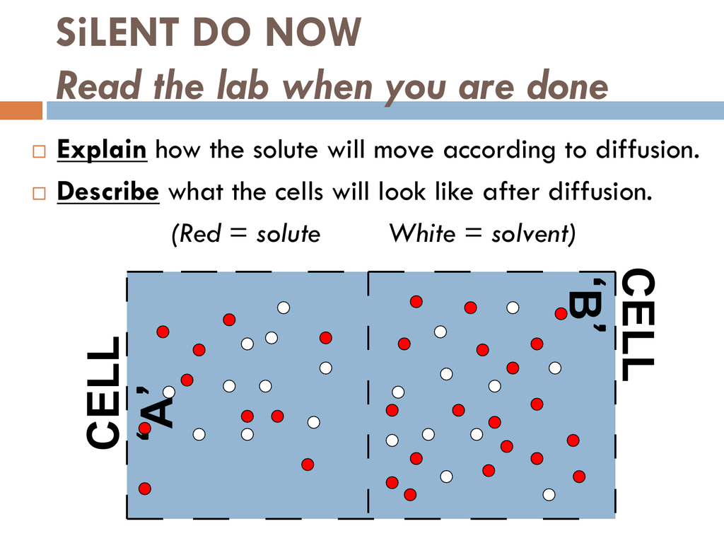 Cells #23 Osmosis Throughout Osmosis And Tonicity Worksheet