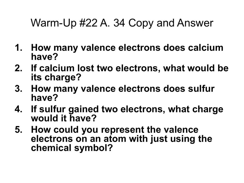 How many valence electrons does calcium have biocorpaavc Image collections