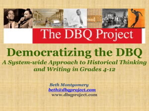 DBQ One Day Basic