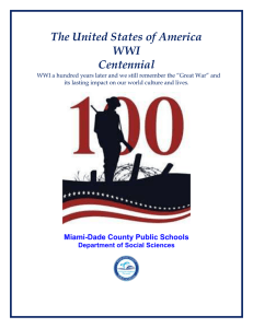 WWI_Centennial_Instructional_Resources