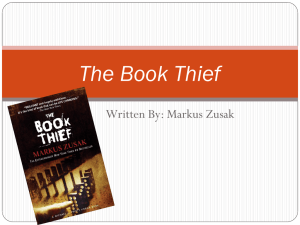 The Book Thief - mscasey