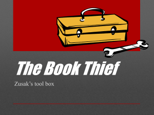 The Book Thief literary devices