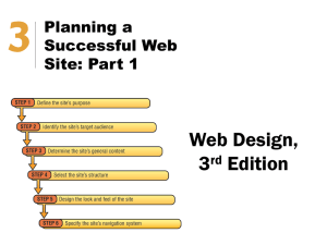 Web Design Chapter 3 Notes