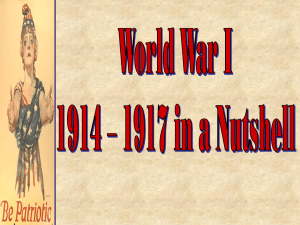 World War I: On the Homefront