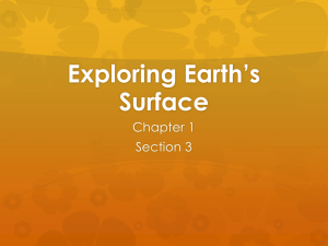 Exploring Earth's Surface