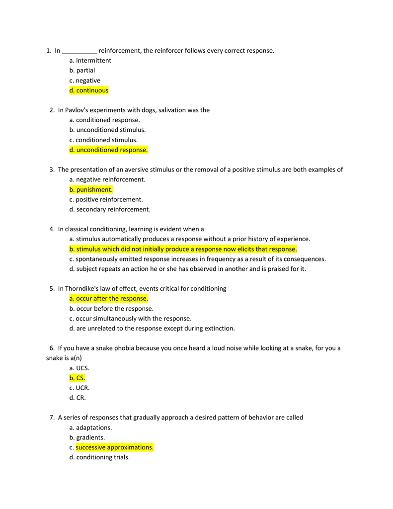 Chapter 8 Learning Review Questions