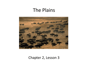 Ch. 2 Lesson 3 The Plains