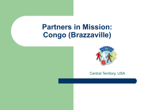 Partners in Mission Congo (Brazzaville)