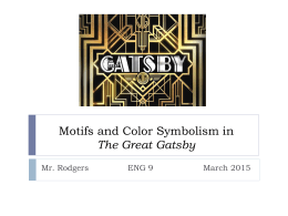 Gatsby essay nmctoastmasters The Great Gatsby Discuss the theme illusion versus reality characters are  blinded to the truth  redesign the life as they prefer it to be with a  logical
