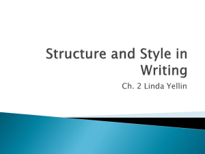 Structure and Style of WritingCh.2ppt[sept17]