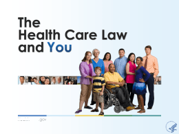 English-General Health Care Law Slides