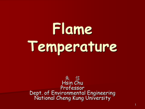 Flame Temperature
