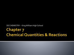Chapter 7 - King William County Public Schools