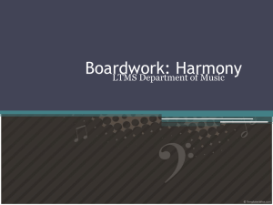 Boardwork: Harmony