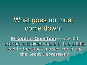 Great Depression - socialscience1414