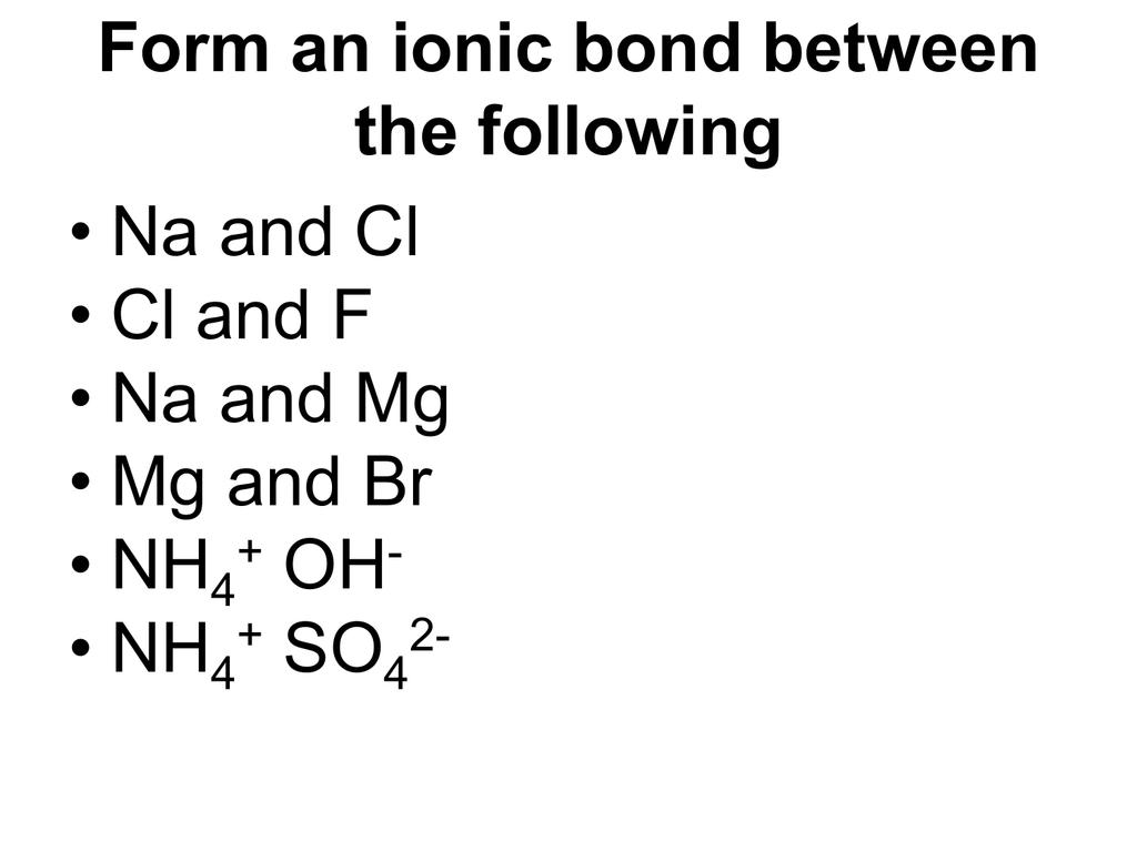 Non Polar Molecules Gilmorecollegeyr11chemistry