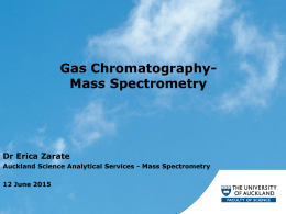 Gas Chromatography-Mass Spectrometry