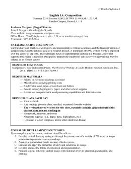 badm 449 syllabus essay