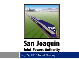 San Joaquin Valley Rail Committee