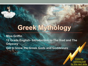 Click on the picture to view The Greek Mythology PowerPoint